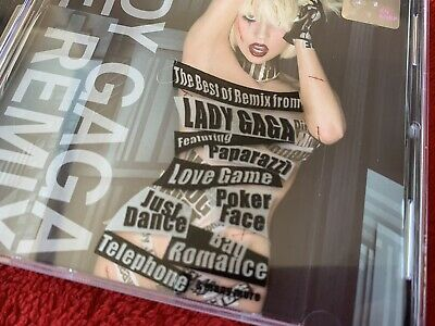 Lady Gaga Cd MALAYASIA EDITION THE REMIX New CENSORED COVER