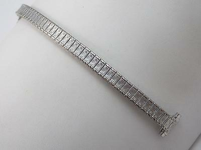 "Watch Band Vintage Speidel Strght Expansion Ladies Stainless 10mm-13mm 3/8""-1/2"""