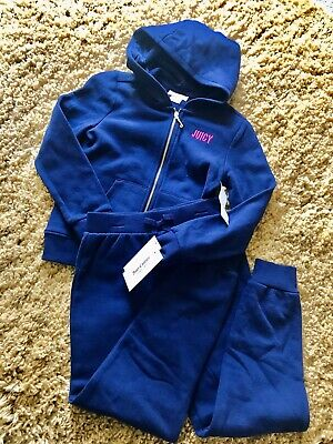 BNWT Juicy Couture Tracksuit Hoodie/Jogger Girls Age 6 Years Old