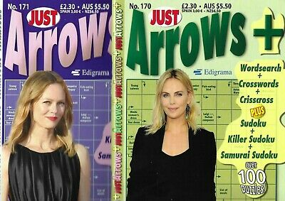 Just Arrow Books Lots Of Fun Puzzles  90 + Arrows In Each Book Issue 158
