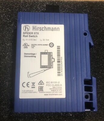 Hirschmann Spider 5TX Rail Switch