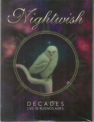 NIGHTWISH - Decades Live in Buenos Aires 2 CD + BLU RAY