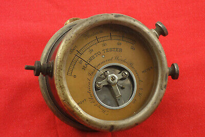 Antique Hoyt Magneto Tester Hit Miss Engine Locomotive Ford Model T IHS Tractor