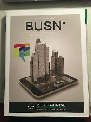 BUSN 9 - Introduction to Business by Kelly and Williams