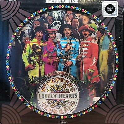 The Beatles SGT Peppers Lonely Hearts Club Band Picture Disc LP Vinyl .99 Start!