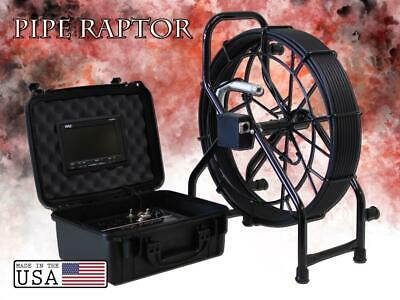 100' Mini Color Sewer Camera Video Pipe Drain Inspection System + SD Recorder