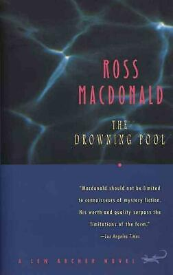 The Drowning Pool by Ross MacDonald (English) Paperback Book Free Shipping!