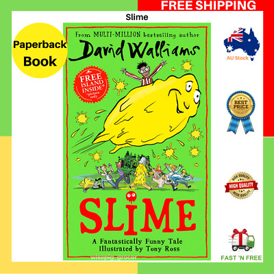 BRAND NEW Slime By David Walliams Paperback Book FAST FREE SHIPPING AU