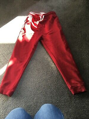 Girls Next Red Slim Joggers Age 7 Years