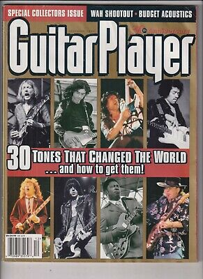 Guitar Player Mag Jimi Hendrix Collector's Issue December 1997 032720nonrh