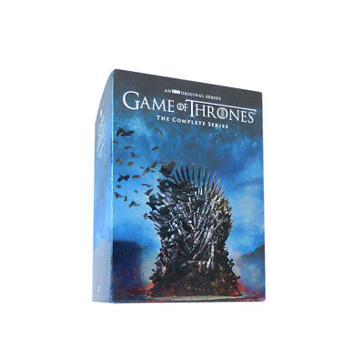Game Of Thrones: The Complete Series Seasons 1-8 Dvd Box Set New