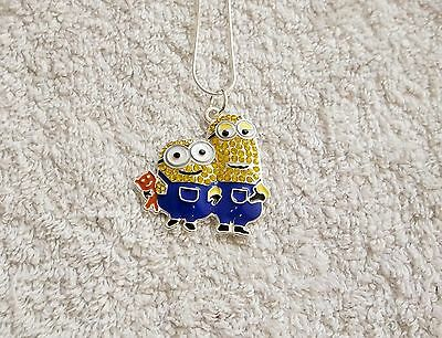 MINION MOVIE Inspired Large Charm NECKLACE Unwanted Despicable Me 2/3 Gift