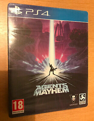 Jeu Video Pour Playstation 4  Ps 4 Ps4 Agents Mayhem