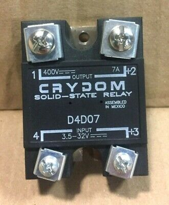 Crydom D4D07 Solid-State Relay