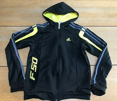Adidas F50 Tracksuit Top Age 11-12 Years Black