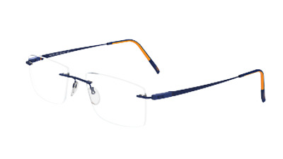 7000 Silverstone Black//White 54 5502 Eyeglasses Silhouette Racing Collection