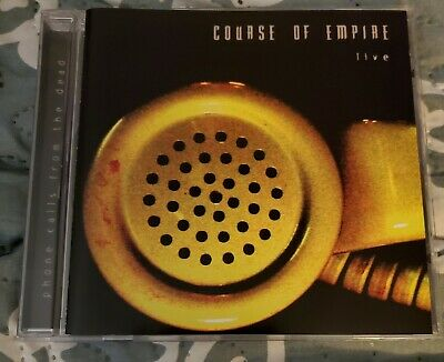 Phone Calls from the Dead- Course of Empire- CD- 2005- Live- Texas Metal