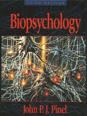 Biopsychology by John P. J Pinel (Hardback) Incredible Value and Free Shipping!
