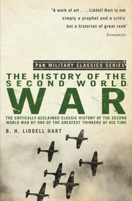 History of the Second World War by B. H. Liddell Hart (Paperback) Amazing Value
