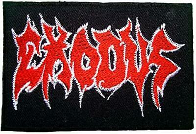 EXODUS Embroidered Easy Sew/Iron On MEMORABILIA MUSIC PATCH W/FREE SHIPPING