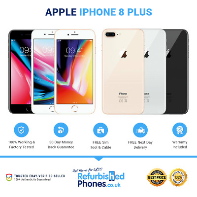 Apple iPhone 8 Plus 64GB/256GB SIM Free Phone Various Colours / Networks A1897