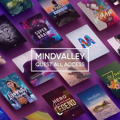 Mindvalley Quest All Access Updated 2020