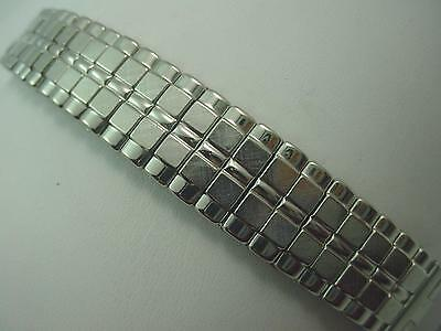 "JB Champion Vintage Watch Band Expansion Stainless 17.5mm-19mm 11/16""-3/4"" Mens"