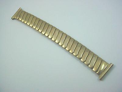"Gold Filled Foster Mens Overhand Expansion 16mm 5/8"" Vintage Watch Band NOS"