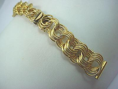 JB Champion Ladies Vintage Watch Band Gold Tone 14mm Short New Old Stock