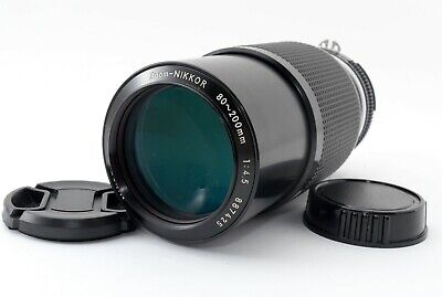 Nikon Zoom-NIKKOR 80-200mm f4.5 Manual Focus Lens from japan Excellent+++