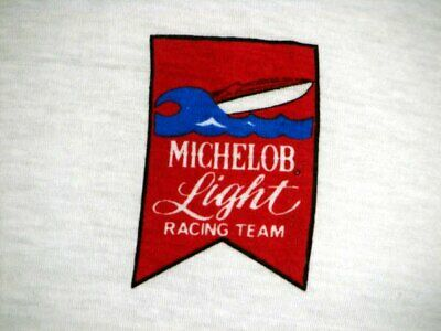 GE1223 VINTAGE '70s MICHELOB LIGHT BEER BOAT RACING TEAM T-SHIRT - 36