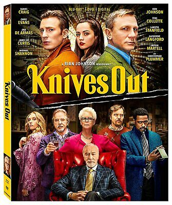 USED Blu Ray KNIVES OUT NO DIGITAL CODES (SEE DESCRIPTION)