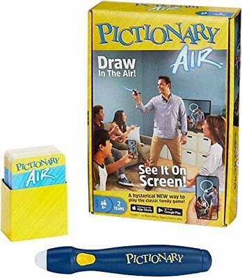 Mattel Games Pictionary Air Juego de Dibujo Familiar, Enlaces a Dispositivos