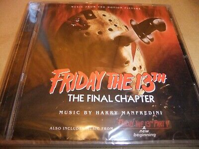 HARRY MANFREDINI FRIDAY THE 13TH PARTS 4 AND 5 Original soundtrack 2 CD SET
