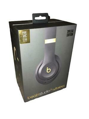 Dre Beats Studio 3 Wireless Special Edition Pure ANC Black / Gold - Shadow Gray