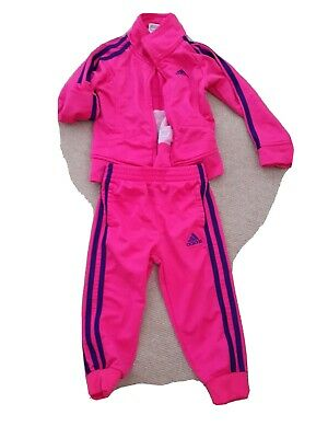 Girls Adidas Track Suit Size 2T