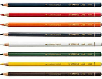 Stabilo 'ALL' Special Pencil for Glass, Plastic Metal, Aquarellable -Packs of 12