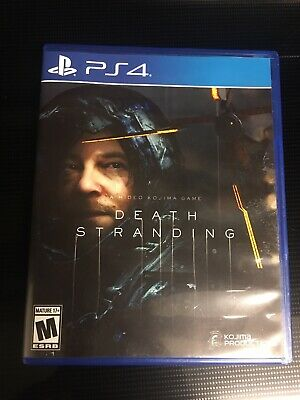Death Stranding - PlayStation 4 PS4 - Adult Used- Mint Condition