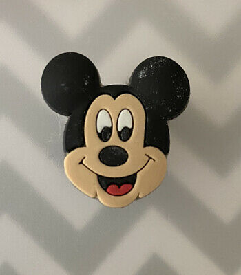 Crocs Jitbit Shoe Charm Decoration Accessory Mickey Mouse face Disney Character