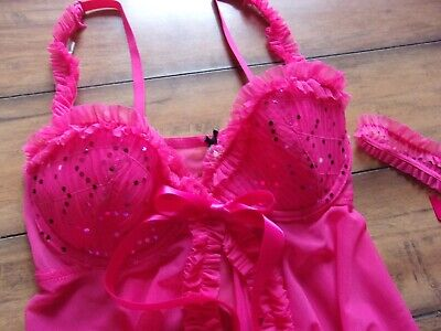 Victorias Secret ~ New NWT 34B ~ VINTAGE 2009! Sexy Little Things Underwire SET