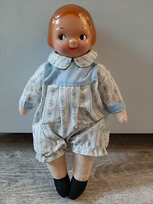 "Vintage Campbell's Soup Kid 12"" Doll  Horsman 1910 replica"