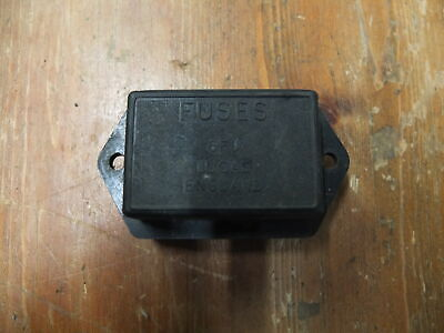 Land Rover Lightweight Military Series 3 Lucas Fuse Box /& Lid OEM BE3592  575395