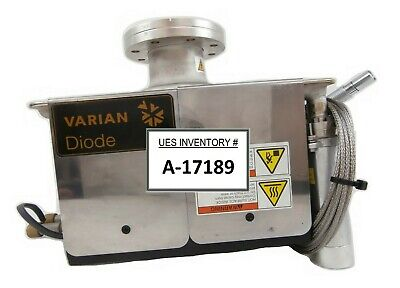 Varian Unmarked Diode Ion Pump with Cable AMAT Applied Materials DN63CF As-Is