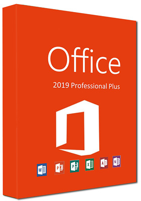 Microsoft Office 2019 Professional Plus✔Blitzversand✔Multilingual✔10 Sek.✔Lizenz