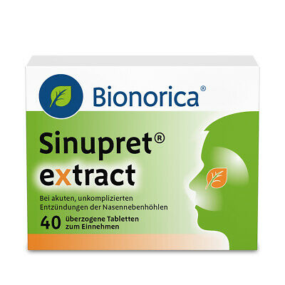 SINUPRET EXTRACT Dragees 40 St PZN:09285547
