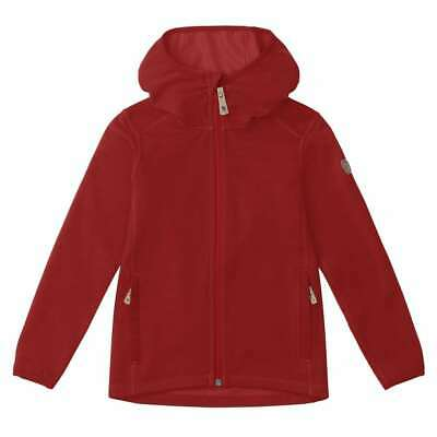 SALE! Fjallraven Kids Keb Fleece Hoodie Lava - 30% OFF