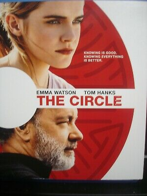 The Circle (Blu-ray Disc ONLY in case with Art, 2017) Tom Hanks