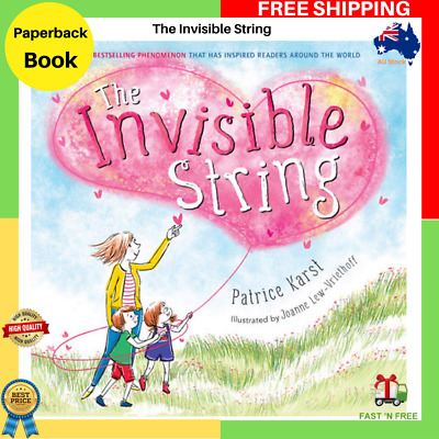 NEW The Invisible String By Patrice Karst Paperback Book FAST FREE SHIPPING AU