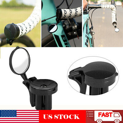 Drop Bar Bicycle Bike Mirrors Rearview Mirror 360ºRotatable Convenient Practical
