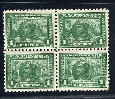 #401 NH Block of Four Left Vert. Pair with Natural Gum Skip SCV. $240 (JH 4/10)